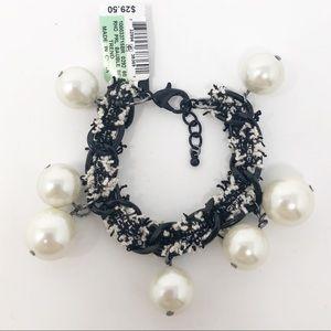 INC | Faux Pearl Bracelet NWT